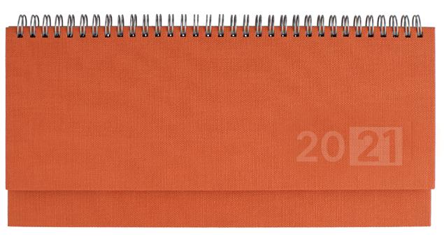 Εικόνα της Πλανόγραμμα εβδομαδιαίο πλάγιο (10,5Χ29)_πορτοκαλί